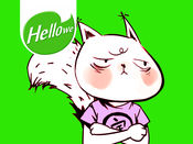 表情贴纸 Hellowe Stickers: Squirrel Zai