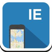 爱尔兰都柏林 离线地图,指南,天气,酒店。免费导航。GPS 1