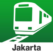 雅加达 Transit - 印度尼西亚,包括轻轨 by NAVITIME