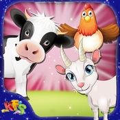 牛场 - 动物饲养与养殖模拟器游戏为孩子们