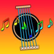 儿童吉他 - 卡拉OK歌曲及和教育和弦演奏分享游戏,儿歌摇篮曲互动