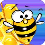 Fizzy bee - 最有趣的益智游戏为孩子们 - 酷有趣的3D免费游戏 - 多人物理上瘾的应用程序,成瘾的应用