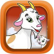 山羊党模拟器运行 - 疯狂的攻游戏的孩子