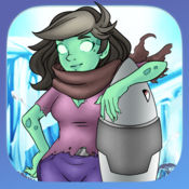 僵尸在火箭 - Free Zombie on a Rocket Game