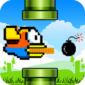Flappy Bird Smash 2 - 鸟防御2免费的冒险游戏,男孩女孩和家庭