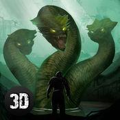 九头蛇蛇模拟器3D