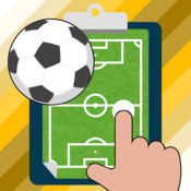 足球笔记板