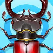 Bugs - 孩子们游戏 - 在森林虫虫特工队 - 昆虫