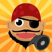 海盗说话 - Talking Pirate: 游戏的孩子,父母,朋友和家人的海盗。 Ahoi!