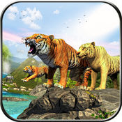 丛林生存的故事 - 一个野生虎的生活