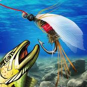 鳟鱼 假蝇钓鱼 和 搭售教程  1