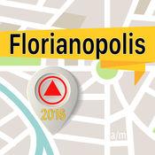 弗洛里亚诺波利斯 离线地图导航和指南 1