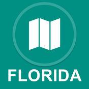 美国佛罗里达州 : 离线GPS导航