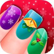 圣诞美甲沙龙 - 微妙艺术美甲游戏 1