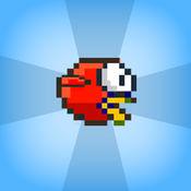 瓣裂隙 - 飞翔的鸟蓬松高,避免管道在这个跳跃孩子们的游戏
