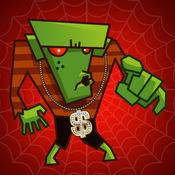 恐怖的老虎机 - 你与僵尸玩,赌,赢和测试你的运气免费赌场游戏