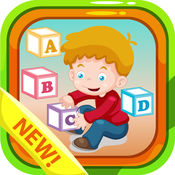 幼儿abc拼图游戏为孩子们 1