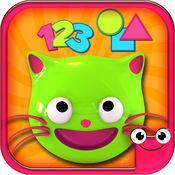 EduKitty-学习颜色、形状和数字的免费教育性游戏。