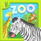 宝宝动物园-儿童识汉字学英语拼图游戏