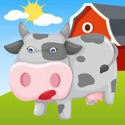 稗拼图为孩子:有趣的动物和农场游戏 1.3