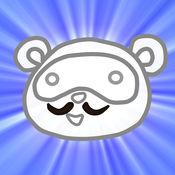 狸 油漆 可爱动物填色本 Tanuki Paint for iPad 1.3