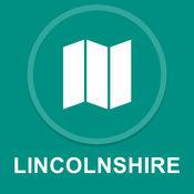 林肯郡,英国 : 离线GPS导航