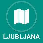 斯洛文尼亚卢布尔雅那 : 离线GPS导航1