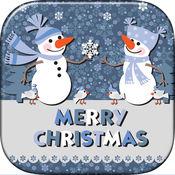 圣诞相框编辑器 - 贺卡制造商有照片编辑乐趣 1