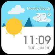 天气风速预测 - 地图位置车速表和准确的天气预告
