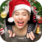 圣诞 照片 帧 - 假日 图片 装饰 和 相机 编辑 自由 2