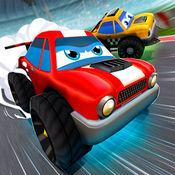 卡通赛车 - 狂野全民飞车挑战