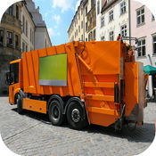 垃圾车驾驶孩子卡车司机的游戏 1.4