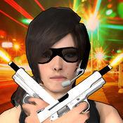 女孩射击维加斯 - 免费3d女孩射击游戏 1
