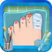 脚趾手术 - 疯狂的脚医生冒险和医生游戏