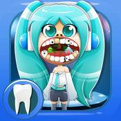 漫画牙医. 游戏的孩子 小诊所和医院 卡通医生 Fun Dentist