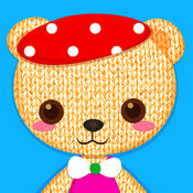 天天欢乐熊熊出没注意 - 小童免费玩具装扮游戏: Tap My Talking Bear