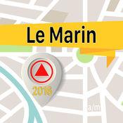 Le Marin 离线地图导航和指南1