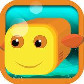 捕获的鱼 - 水下动物追逐火拼