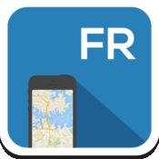 法国 离线地图,指南,天气,酒店。免费导航。