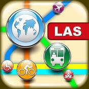 拉斯维加斯(美国)地图 - 下载交通地图和旅游指南