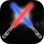 绝地武士激光剑  - 含有震撼仿真声效的宇宙银河系绝地武士的正义激光剑