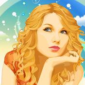 艺术壁纸 - Celebrity Wallpapers & Backgrounds HD with Photo Editor & Puzzle Game