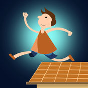 我是屋顶亚军亲 - 疯狂的速度瓷砖赛车游戏