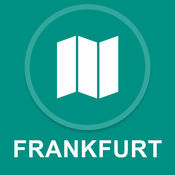 德国法兰克福 : 离线GPS导航