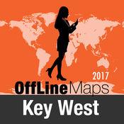 基韋斯特島 离线地图和旅行指南