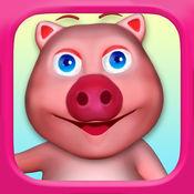 !会说话的猪Oinky -我的虚拟宠物猪