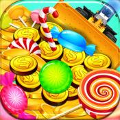 """""""糖硬币推土机粉碎发烧免费 - 最佳狂欢粉的游戏!"""