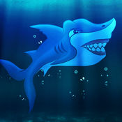 惊人的鲨鱼进化水赛 - 酷赛车速度的街机游戏