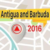安提瓜和巴布达 离线地图导航和指南 1