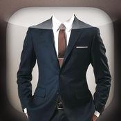 男士西装的照片蒙太奇 – 试衣服和創建虛擬化妝 1